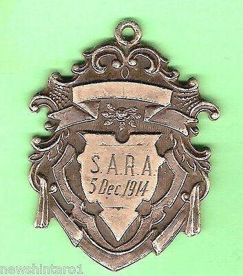 #s1.  Silver Prize Fob - 1914 South Australian Rowing Association, Henley