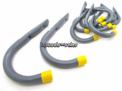 "10 Pc 7/"" GIANT Storage Handy Hanger Hooks Garage Home Shop Hanging Bicycle Hoses"