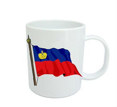 Liechtenstein Flag  Coffee Mug Free Personalisation