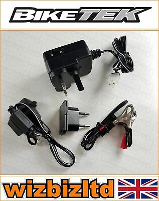 Motorcycle Battery Charger for 12v Batteries - Slow Charge Trickle Charge BCH012