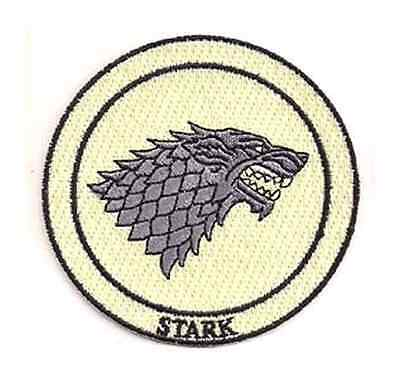 Game of Thrones House Stark Iron On/Sew On Patch Official Licensed Product
