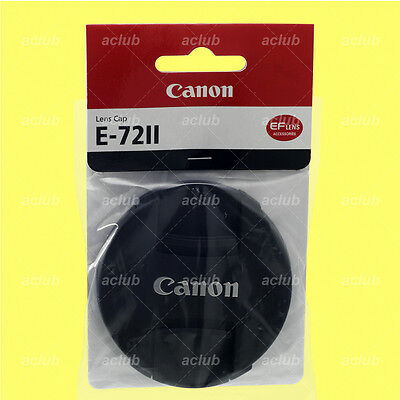 Genuine Canon E-72II Front Lens Cap 72mm Lens Dust Cover Protector E-72 II