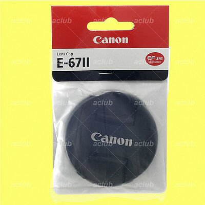 Genuine Canon E-67II Front Lens Cap 67mm Lens Dust Cover Protector E-67 II