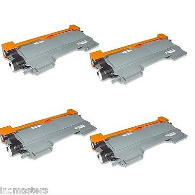 4 PK Brother TN450 TN-450 Toner Cartridges for HL-2220 2230 2240 2270DW NON-OEM