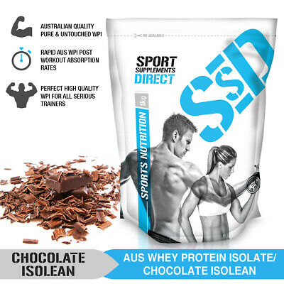 1Kg Nz Whey Protein Isolate Chocolate - Women Wpi Define Powder - Low Carb Choc