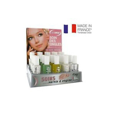 Vernis-Soin Des Ongles-Base-Durcisseur -Gel-Stries-Cuticule-Fortifiante-Cosmod