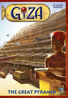 Giza The Great Pyramid Board Game From Mayfair Games