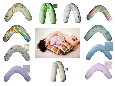 190 cm Maternity Pregnancy nursing breast feeding Support pillow and case