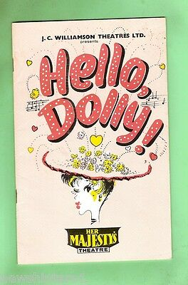#d62.  1965  Her Majesty's Theatre  Program - Hello Dolly