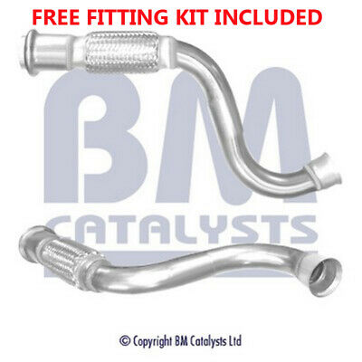 Fit with CITROEN C4 Exhaust Connecting Link Pipe 50104 1.6 (Fitting Kit Included