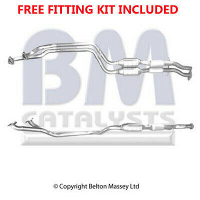 Fit with BMW 328 E36 Catalytic Converter Exhaust 90452 2.8 (Fitting Kit Included