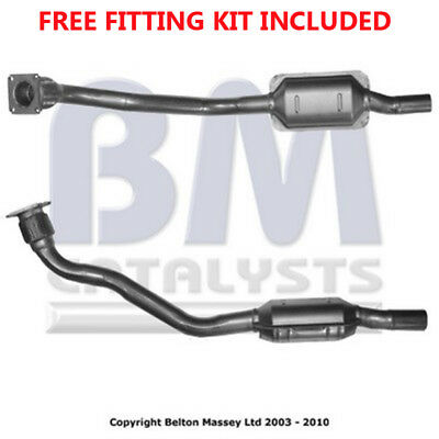 Fit with VW GOLF Catalytic Converter Exhaust 90712 1.8 (Fitting Kit Included)