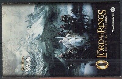 New Zealand 2003 $9 Lord Of The Rings Iii Booklet Uhm (Id:069/D21795)
