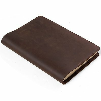 Refillable leather journal,leather book cover,sketchbook,diary,notebook,blank,A5