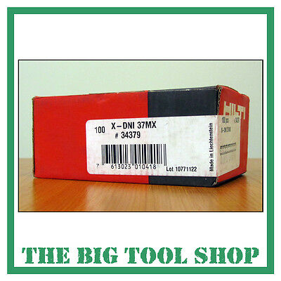 Hilti 37Mm Genuine Nails For Hilti Dx460 X-Dni 37 Mx 34379 Magazine