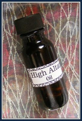 HIGH  ALTAR OIL - Wicca, Santeria, Hoodoo, Voodoo, New Age