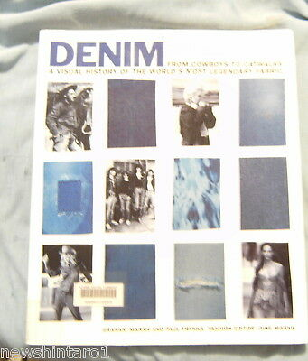 #jj. Book - A Visual History Of Denim Fabric