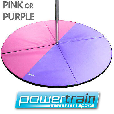 Powertrain Portable Dance Pole Safety Mat Exercise Pad Floor Home Gym Crash Pad