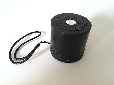 Black Bluetooth Wireless Speaker Mini Portable Super Bass For iPhone/iPAD Tablet