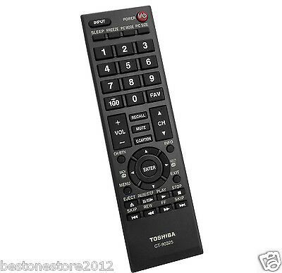 New Original Toshiba TV Remote CT-90325 ct90325 remote 55HT1U 55S41U 55SL412U TV