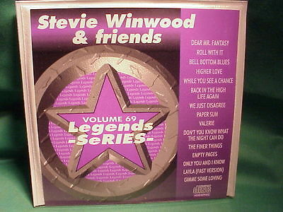 Stevie Winwood & Friends~Legends Karaoke~69~~Back in the High Life Again~~CD+G