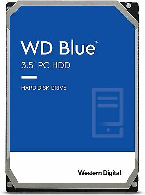 "Western Digital Blue 1TB 3.5"" Internal HDD Hard Drive SATA 7200RPM WD10EZEX"