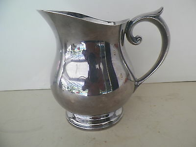 NEWPORT SILVERPLATED 6 1/2'' TALL PITCHER YB337*MO RESERVE