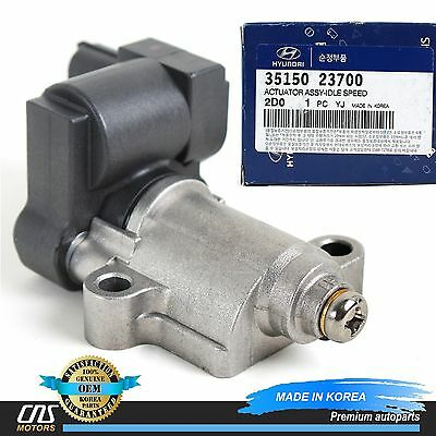GENUINE Idle Speed Control Valve Fits 03-10 Hyundai Kia 2.0L OEM 35150-23700