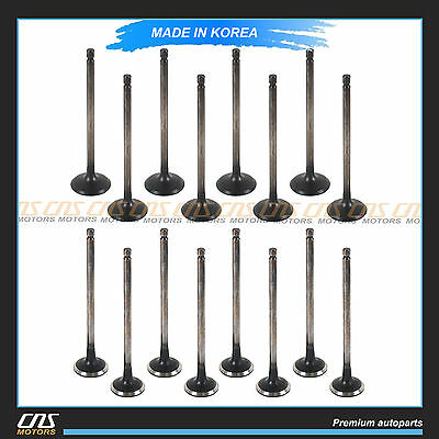 Intake Exhaust Valve Kit for 01-12 Hyundai Kia 2.0L OEM 22211-23600 22212-23600