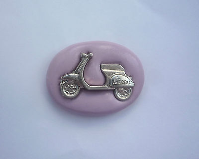 Scooter Bike Vespa Sport Silicone Mould, Sugarcraft, Cup Cake Topper  Crafts