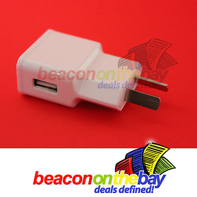 USB Port AC Wall Charger Adapter AU Plug Mobile Phone Tablet Mains Iphone iPad