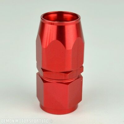 AN -8 Forged Straight Hose Fitting Red 8AN AN8 -8