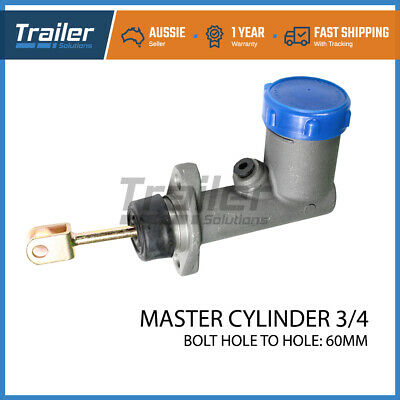 Coupling Master Cylinder 3/4 Brake Part Hydrualic Trailer Caravan Drum Disc
