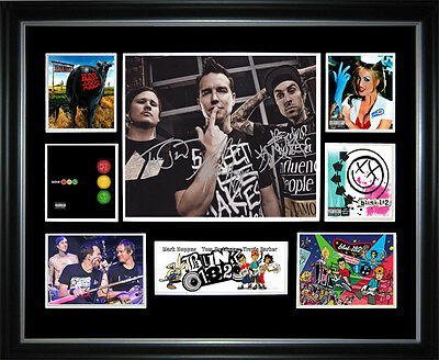 Blink-182 Framed Memorabilia