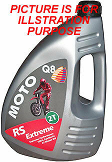 Q8 Rs 2T  Extreme Supreme Performance Full Synthetic  2T Motor Oil (1L)
