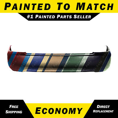 NEW Painted to Match - Rear Bumper Cover for 2004 2005 2006 Nissan Sentra