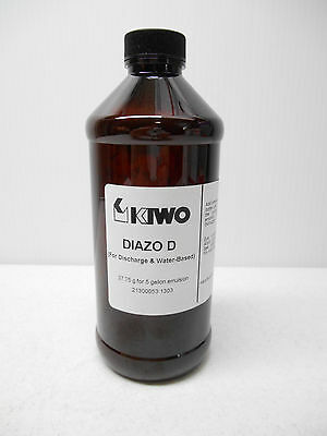 Kiwo Diazo D 37.75 G For 5 Gallon Emulsion For Discharge & Water-Based