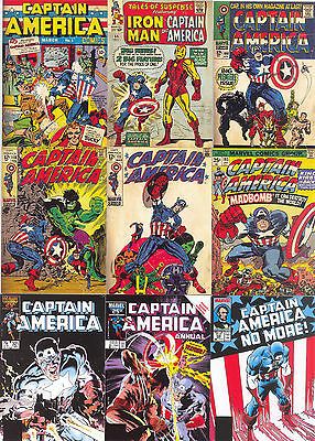 Captain America The First Avenger 2011 Covers Insert Card Set C-1 - C-13 Marvel