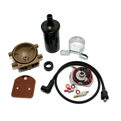PERTRONIX 1247XT IGNITOR Ignition Ford FoMoCo 4 Cyl Distributor Remote Coil  Kit