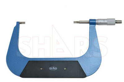 "Shars Precision 5-6 Inch Blade Outside Micrometer .0001"" New"