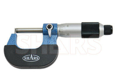 "SHARS 0-1"" Tube Micrometer .0001"" Graduation Carbide Tipped NEW"