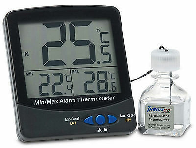 Certified Digital Thermometer - Incubator Certified @ +37ºC