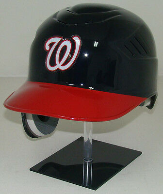 WASHINGTON NATIONALS Navy/Red Coolflo Official Full Size Batting Helmet - LEFTY