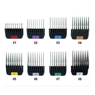 WAHL Pet 1-8 Stainless SINGLE Metal Combs/Guides for KMSS/KM2/KM5/KM10 Clippers