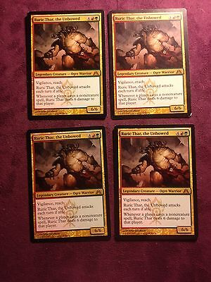 Ruric Thar the Unbowed  VO MTG Magic X4 Mint//NM l/'insoumis  Ruric Thar