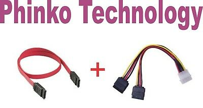** HOT SALE ** IDE to SATA Hard Drive Power Cable + Sata Data cable