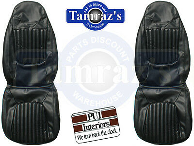 1971 Challenger R/T Deluxe Front & Rear Seat Covers Upholstery Convertible PUI