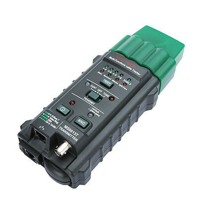 MS6813 Network Cable Tester Telephone Line Detector Tracker RJ45 RJ11 COAX T568A