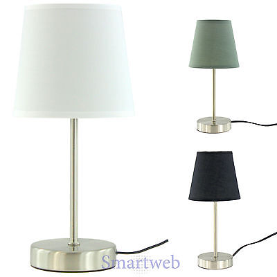 nachttischleuchte nachttischlampe tischlampe nachtlampe stehlampe lampe eur 11 95 picclick de. Black Bedroom Furniture Sets. Home Design Ideas