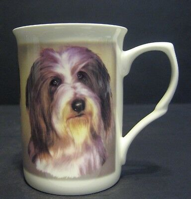 Bearded Collie Dog English Fine Bone China Mug